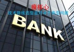 """银行转向""""瘦核心"""",技术路线选型面对 4 个典型问题"""